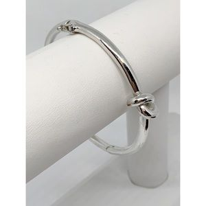 Kate Spade Silver Sailor's Knot Bangle Bracelet